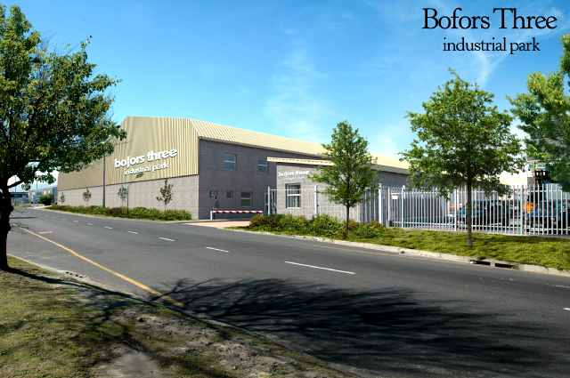 Light Steel Frame Structures Cape Town South Africa: BOFORS THREE, EPPING (FULLY LET)