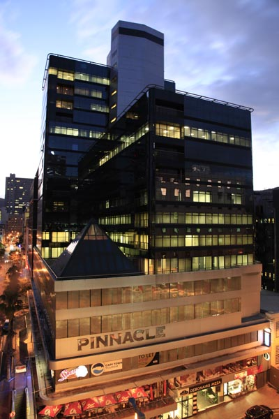 Office Space TO LET at The Pinnacle – CBD Cape Town
